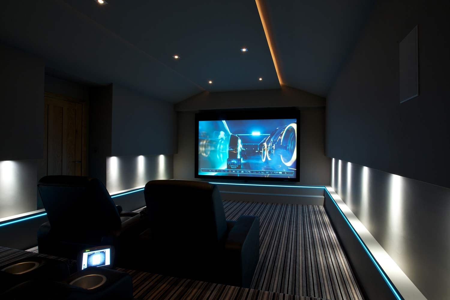 Sci Fi Home Theater Is Portal To Another World Cinema Design Group